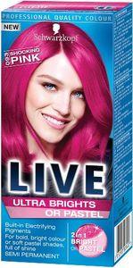 Barva za lase Schwarzkopf Live XXL Ultra 93 šokantno roza