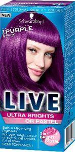 Barva za lase Schwarzkopf Live XXL Ultra 94 punk vijolična