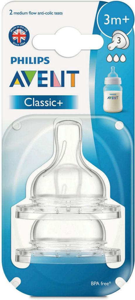 Cucelj Avent, silikon, srednji pretok
