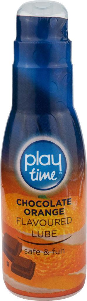 Lubrikant Play time, okus čok.pom, 75ml