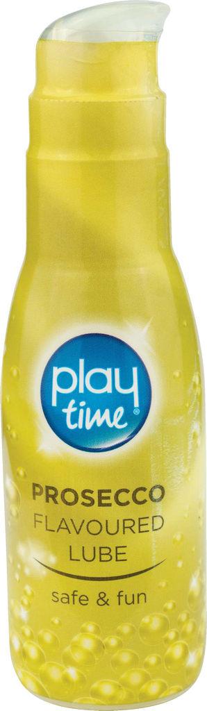 Lubrikant Play time, okus šampanjec, 75ml