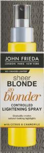 Sprej za lase John Frieda, SB go Blonder, za posvetlitev, 150 g