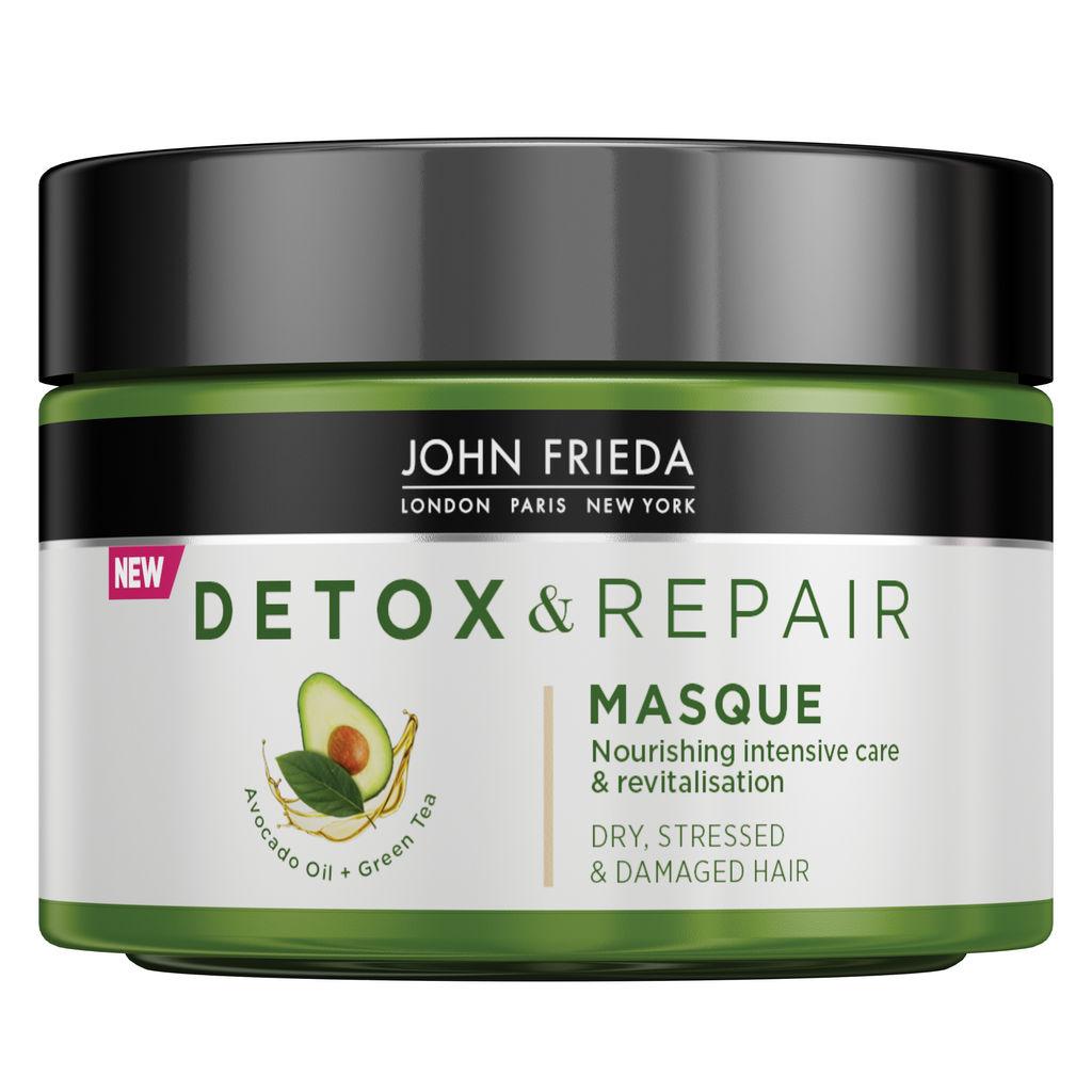 Maska za lase John Frieda, Detox&Repair, 250 ml