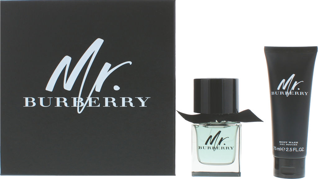 Darilni set Mr. Burberry, moški, EDT 50 ml + gel za tuširanje 75 ml