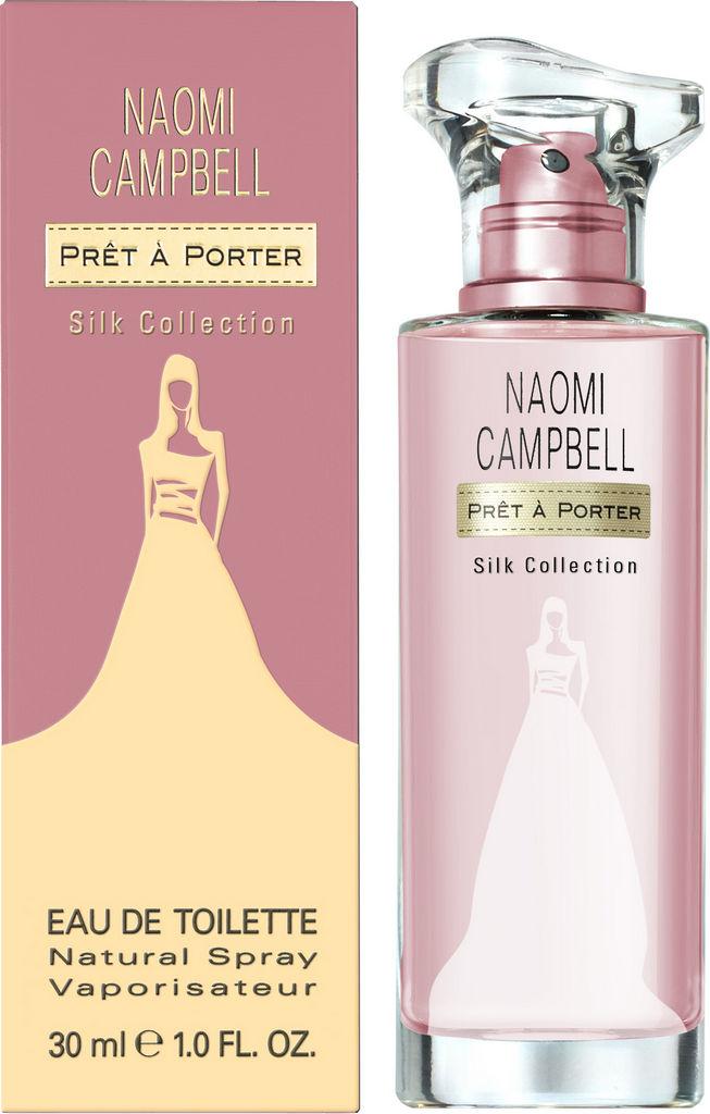 Toaletna voda Naomi Campbell, Pret a Porter, Silk Collection 3, ženska, 30ml