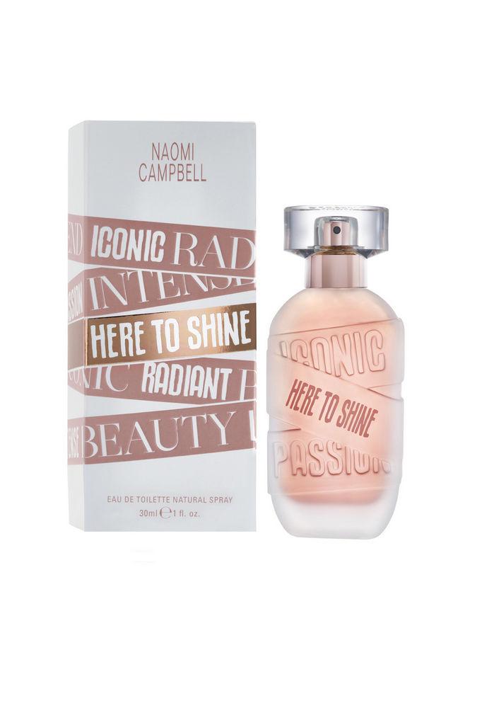 Toaletna voda Naomi Campbell, Here to shine, ženska, 30 ml