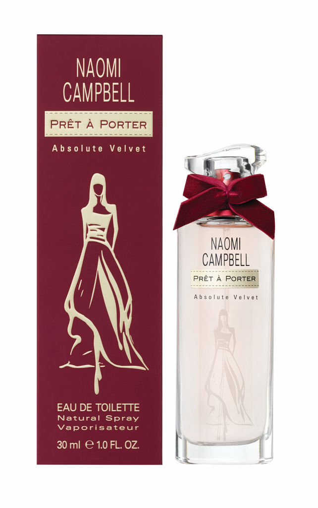 Toaletna voda Naomi Campbell, Pret a Porter Absolute Velvet, ženska, 30ml