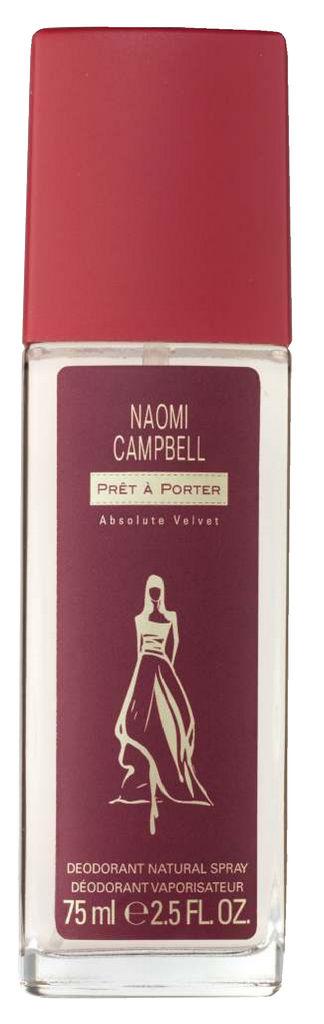Deodorant Naomi Campbell, Pret a Porter Velvet, 75ml