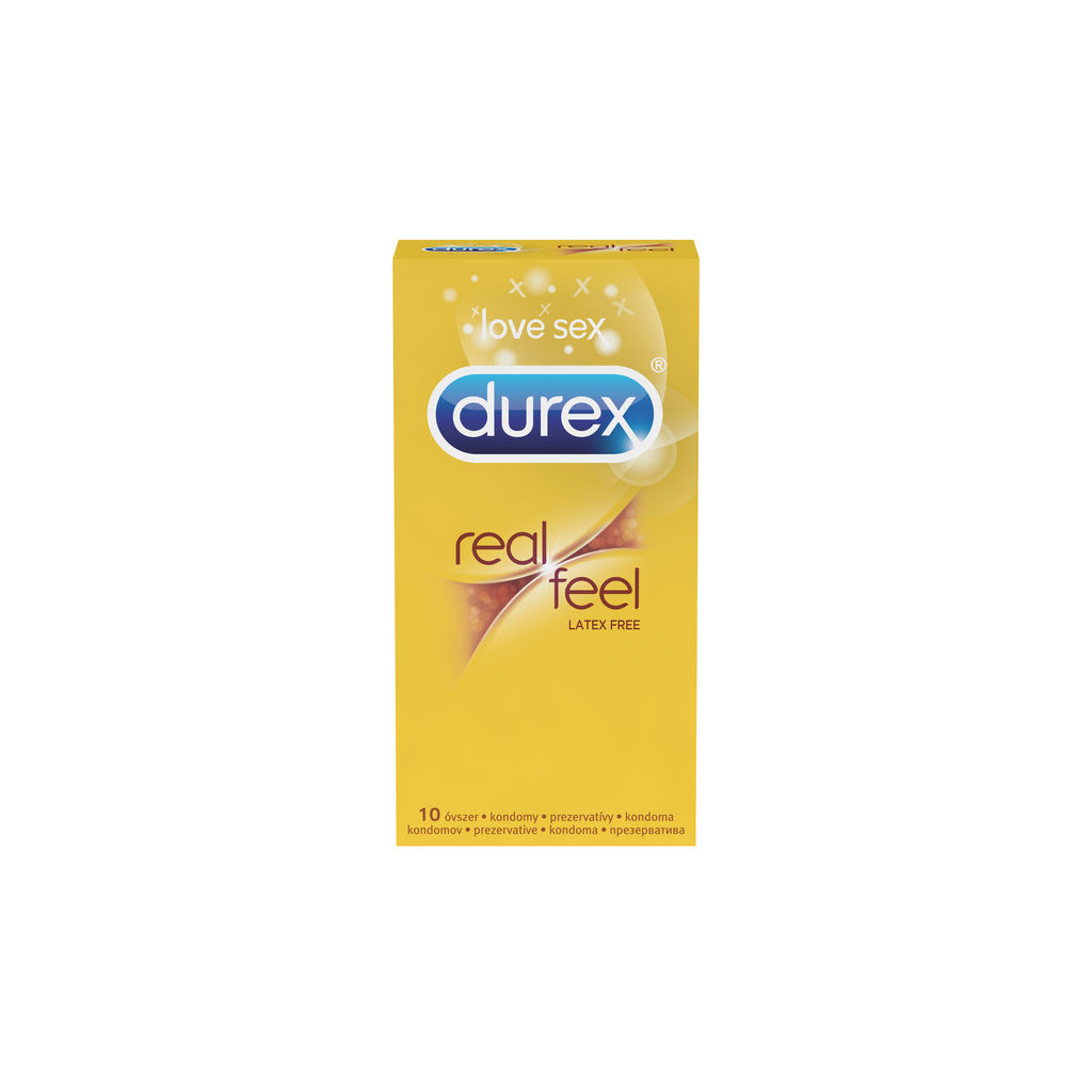 Kondomi Durex, real feel, 10/1