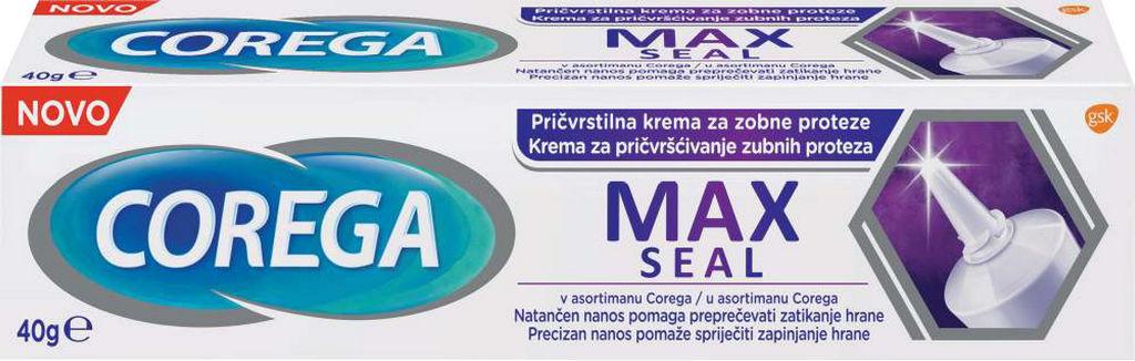 Krema Corega, pričvrstilna, Max seal, 40g