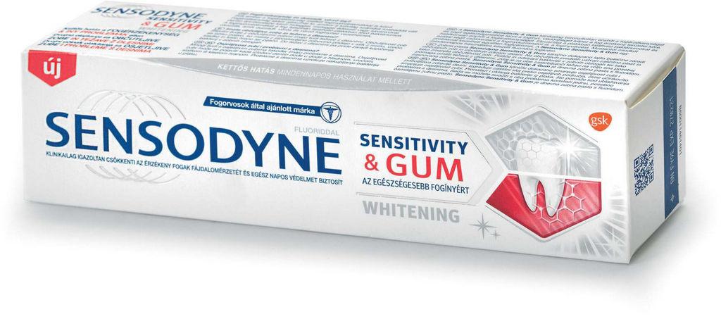 Zobna pasta Sensodyne, S&G whitening, 75ml