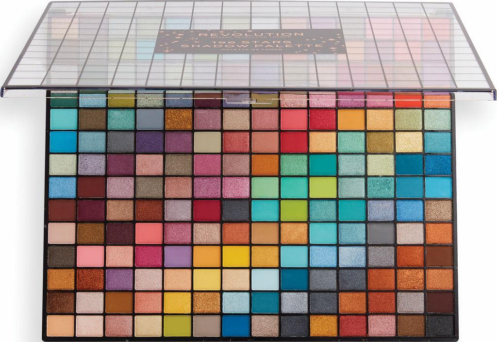 Paleta senčil Revolution, 196 Stars eyeshadow palet