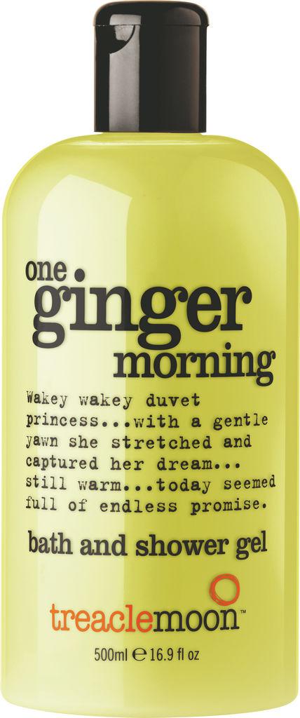 Gel za prhanje&kopel One, ginger morning Treaclemoon, 500ml