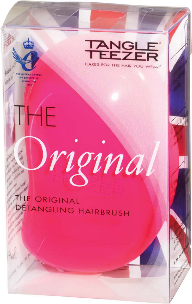 Krtača za lase Tangle Teezer, original, pink