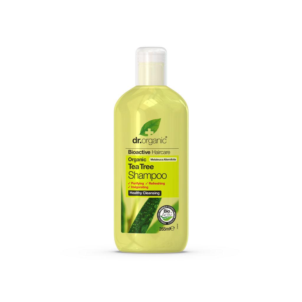 Šampon za lase Dr.Organic, Čajevec, 265 ml