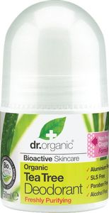 Deozodorant roll-on Dr. Organic olje čajevca, 50ml