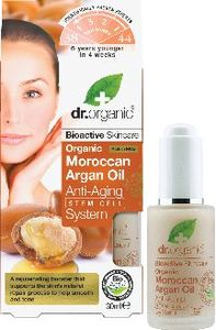 Serum Dr.Organic, Anti age Argan oil, 30 ml