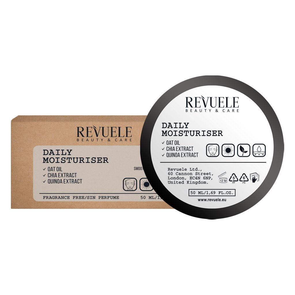 Krema Revuele, Vegan&Organic dnevna vlažilna, 50 ml