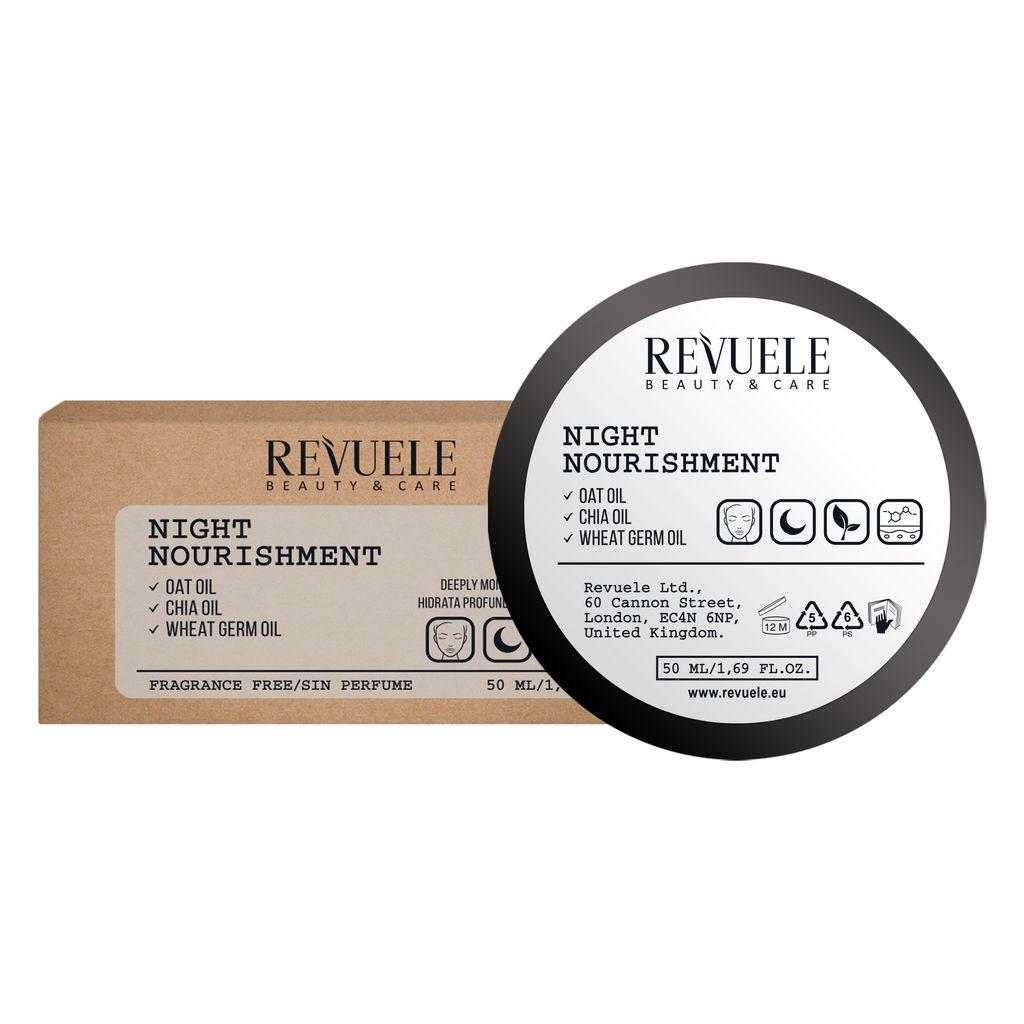 Krema Revuele, Vegan&Organic hranilna nočna , 50 ml
