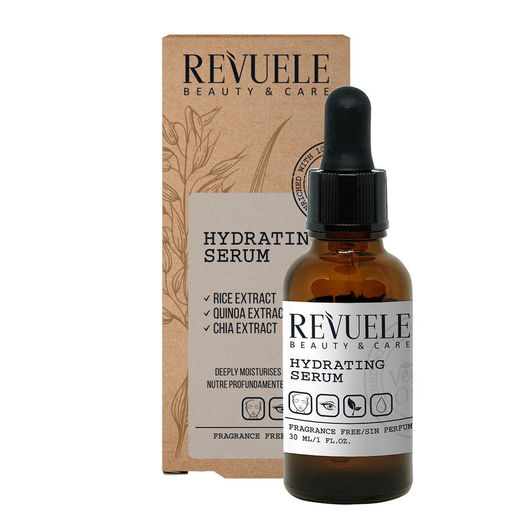 Serum Revuele, Vegan&Organic vlažilni, 30 ml