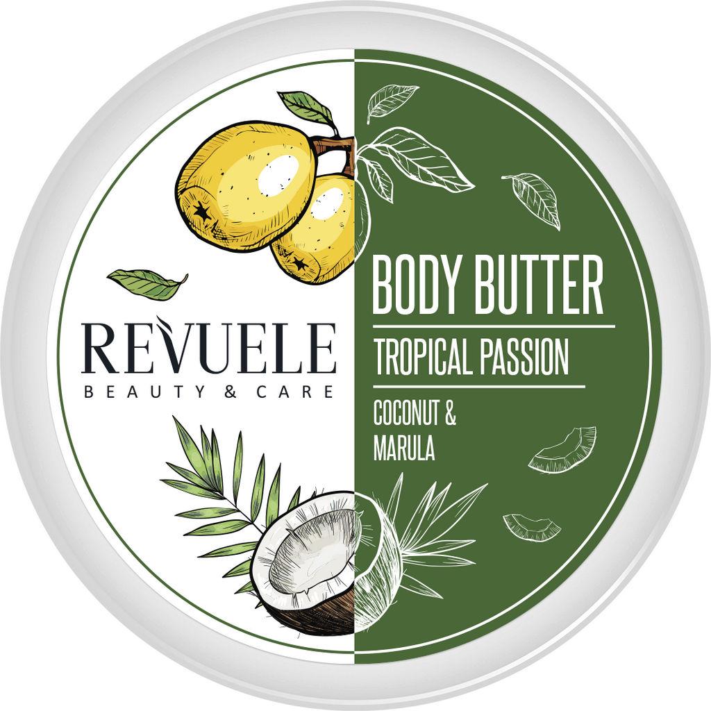 Maslo za telo Revuele, Tropical passion, 200ml