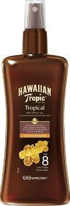 Olje Hawaiian tropic, Tropical, ZF 8, 200ml