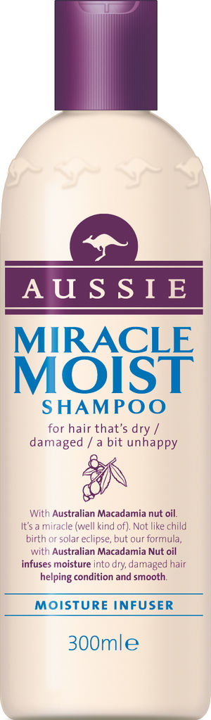 Šampon Aussie, Miracle moist, 300ml