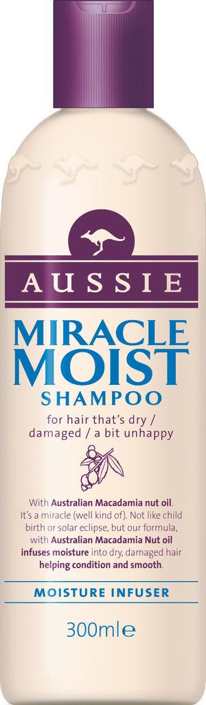 Šampon Aussie, Miracle moist, 300ml