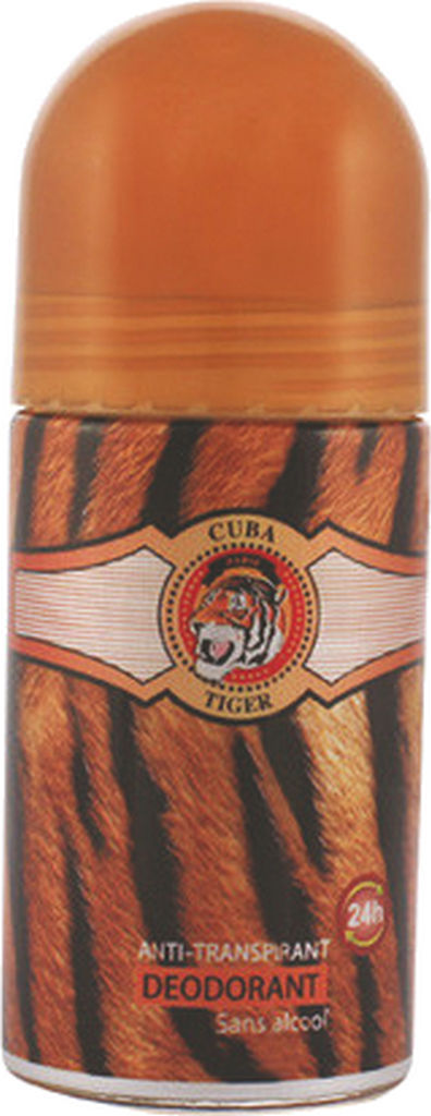 Dezodorant roll-on Cuba, Tiger, 50ml