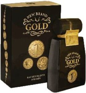 Toaletna voda New brand, Gold, 100ml