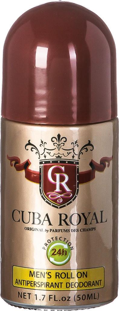Dezodorant Cuba, Royal, roll on, 50ml