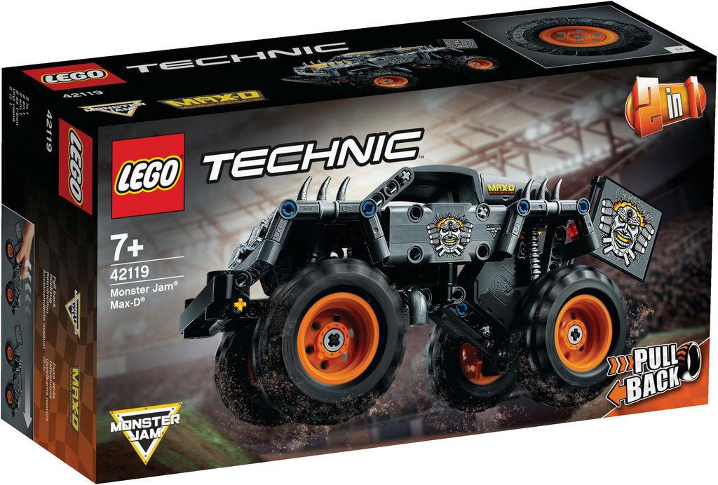 Lego Tehnic, Monster jam max-d