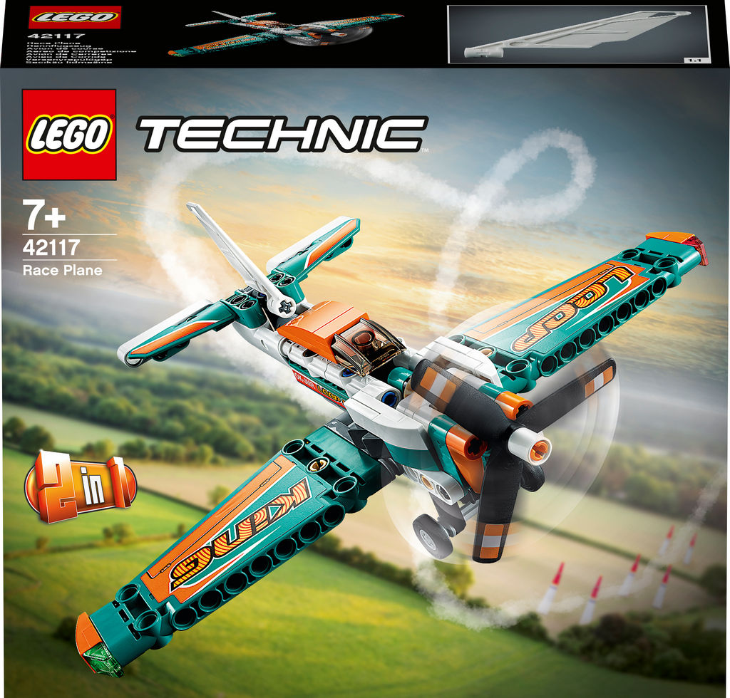 Lego Tehnic, Tekmovalno letalo