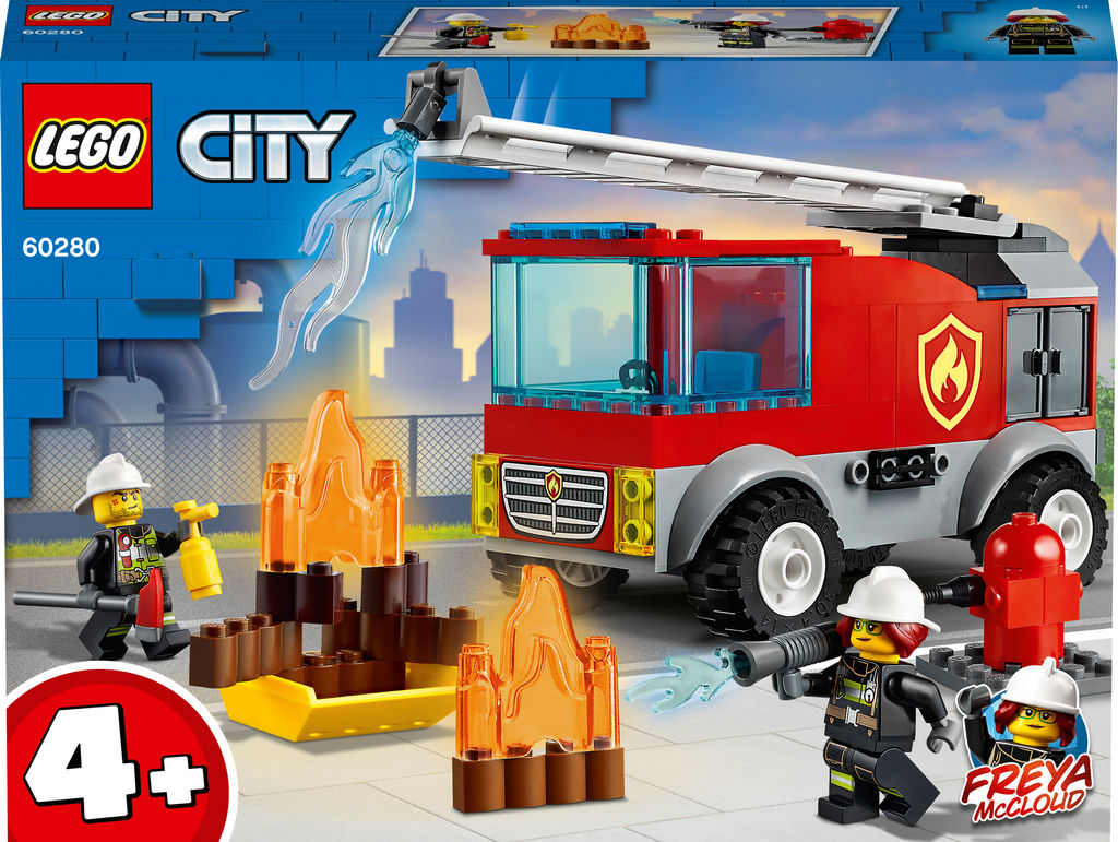Lego City, Gasilski tovornjak z lestvijo