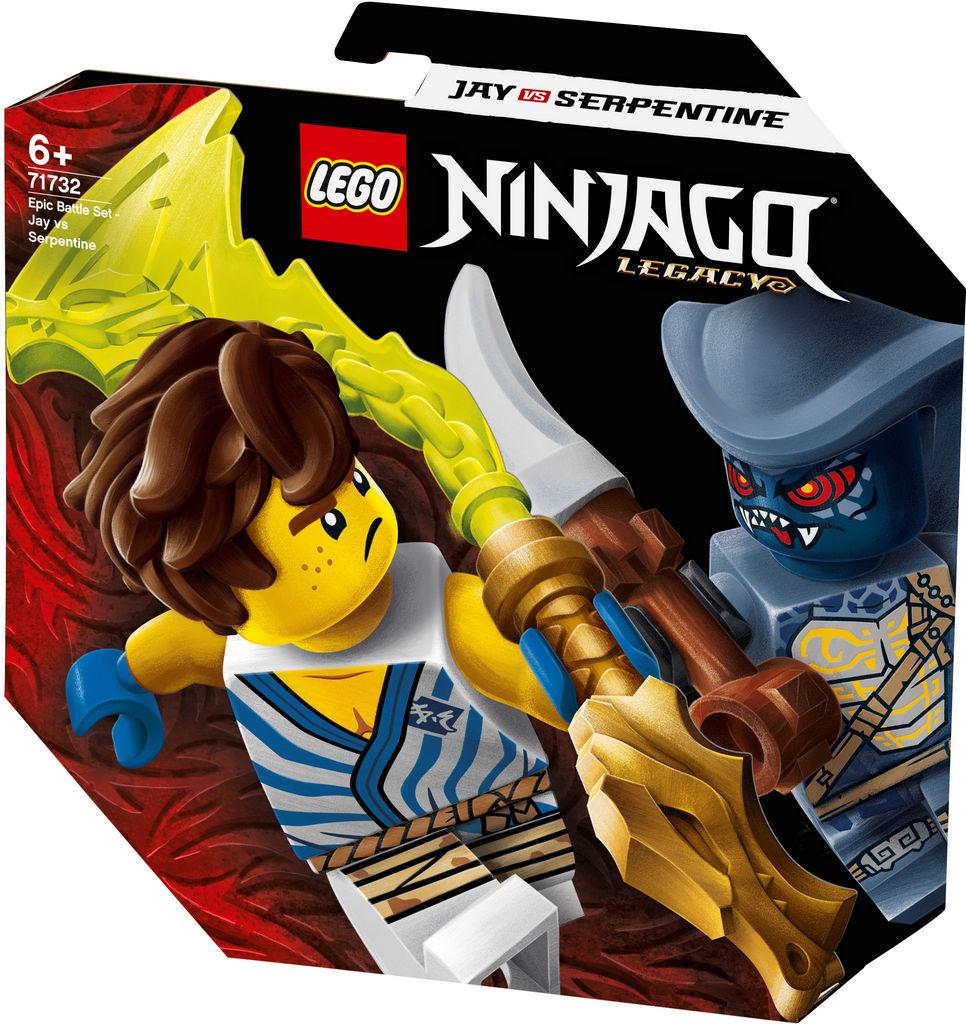 Lego Ninjago, Epski bojni komplet, Jay Vs Seprentinu