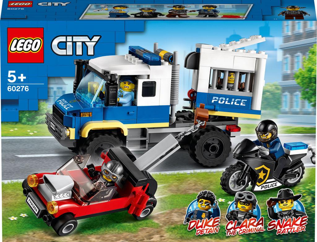 Lego City, Policijsko vozilo za prevoz zapornikov