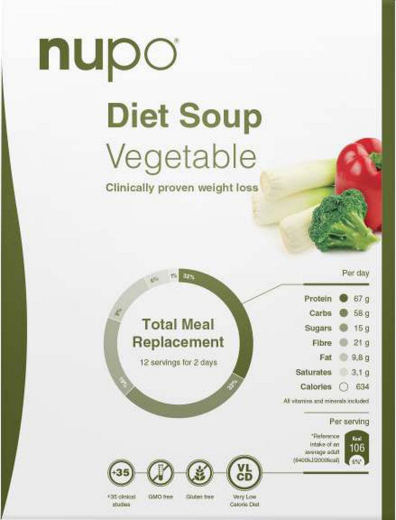Dietna juha Nupo zelenjava 12 porcij