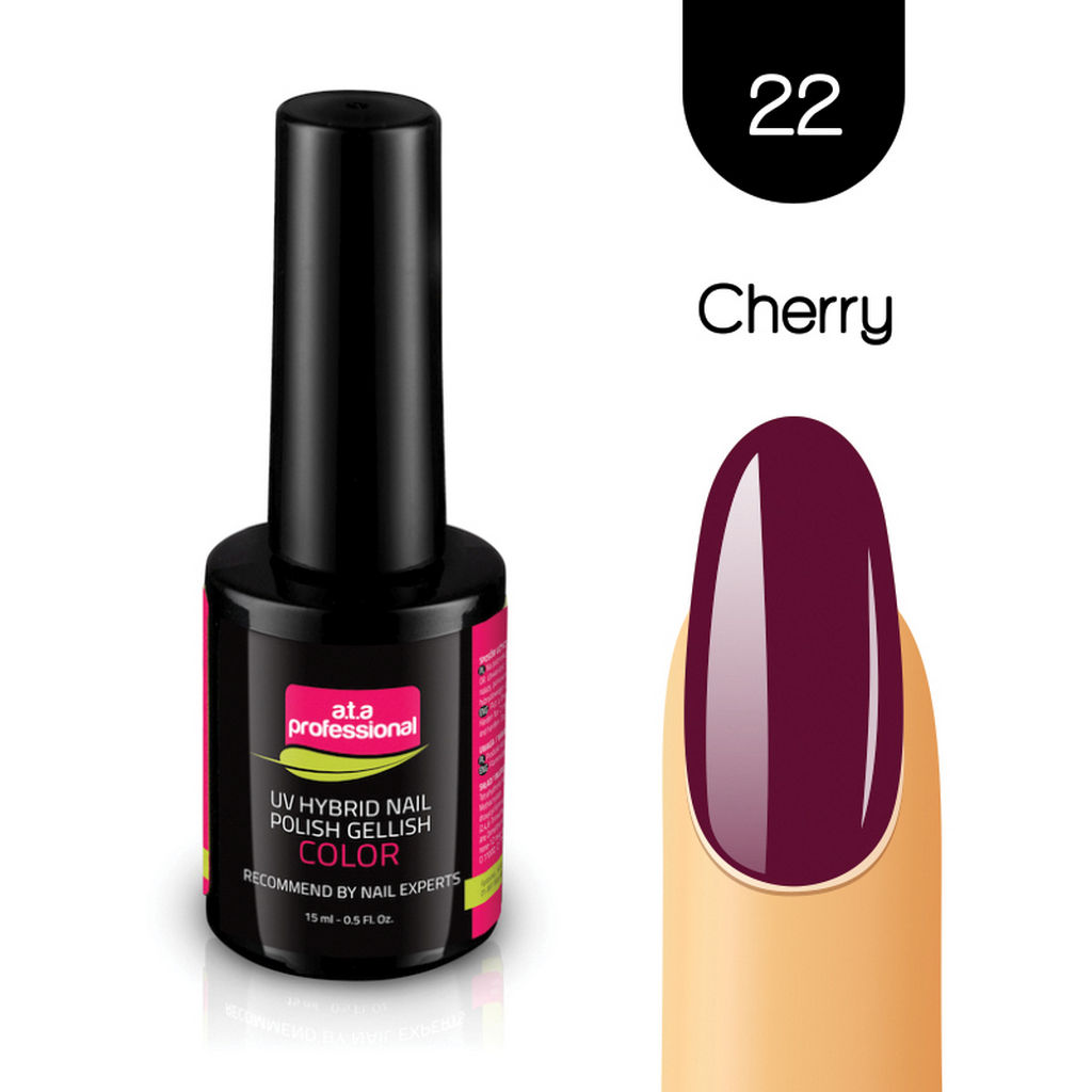 Gel lak za nohte Fantoma, UV/LED, št.22 Cherry