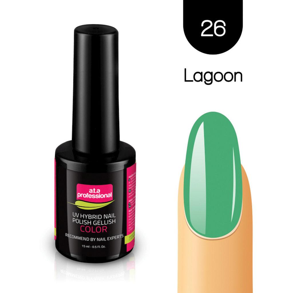 Gel lak za nohte Fantoma, UV/LED, št.26 Lagoon