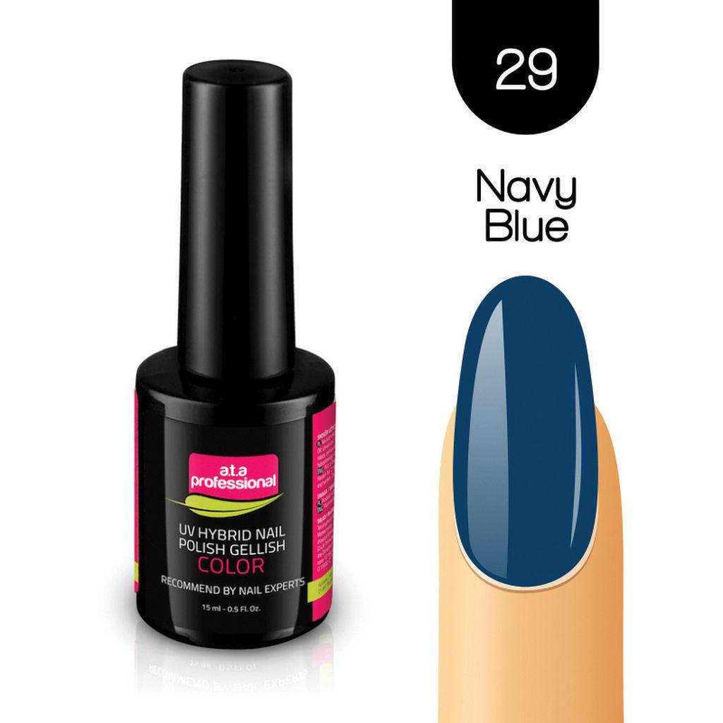 Gel lak za nohte Fantoma, UV/LED, št.29 Navy Blue