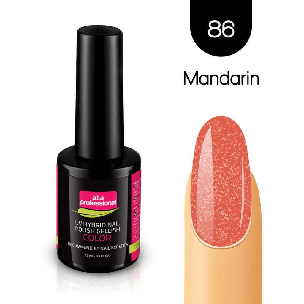 Gel lak za nohte Fantoma, UV/LED, št.86 Mandarin