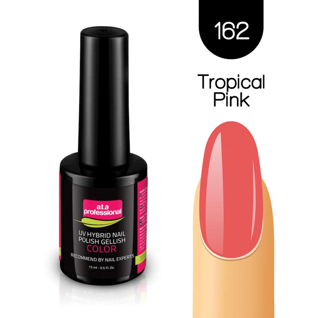 Gel lak za nohte Fantoma, UV/LED, št.162 Tropical Pink