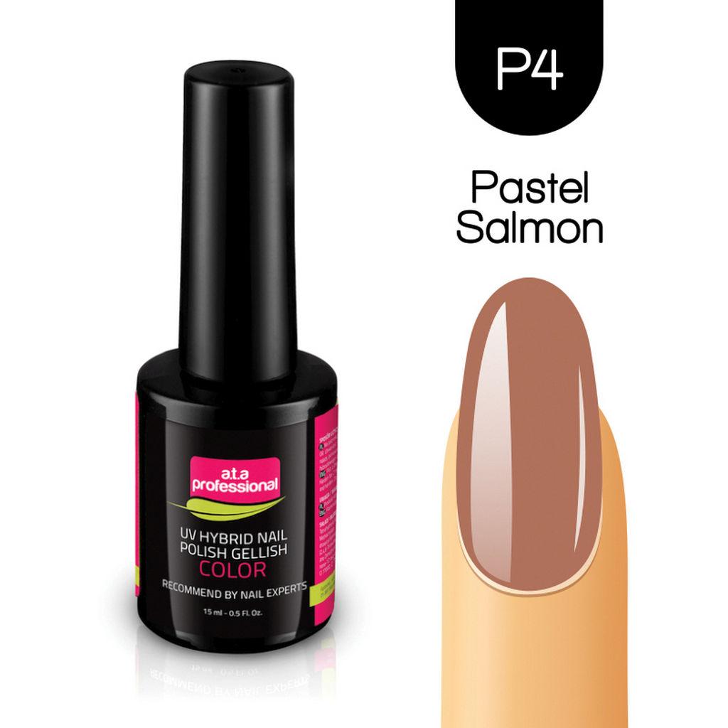 Gel lak za nohte Fantoma, UV/LED št.C04 Pastel Salmon
