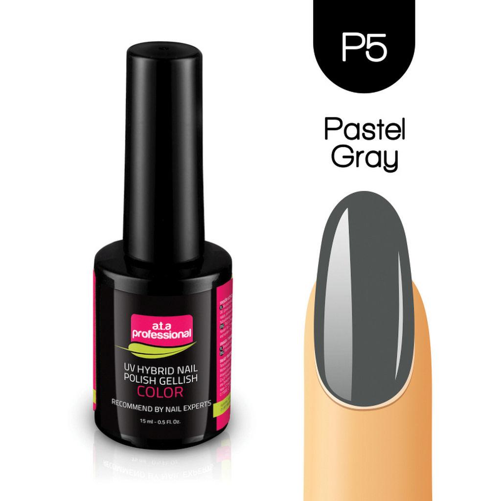 Gel lak za nohte Fantoma, UV/LED št.P05 Pastel gray