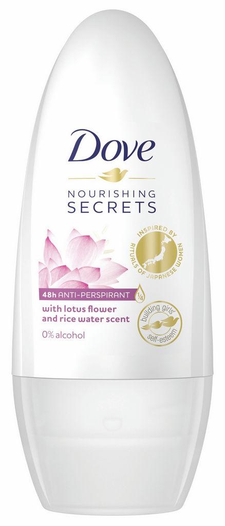 Roll on Dove, Nourishing Secret, lotus flower & rice water, 50 ml