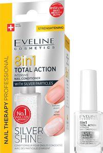 Lak za nohte Eveline, Silver Shine 8 v 1
