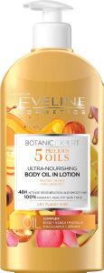 Losjon za telo Eveline, Botanic Expert 5 Oils hranljivi, 350 ml