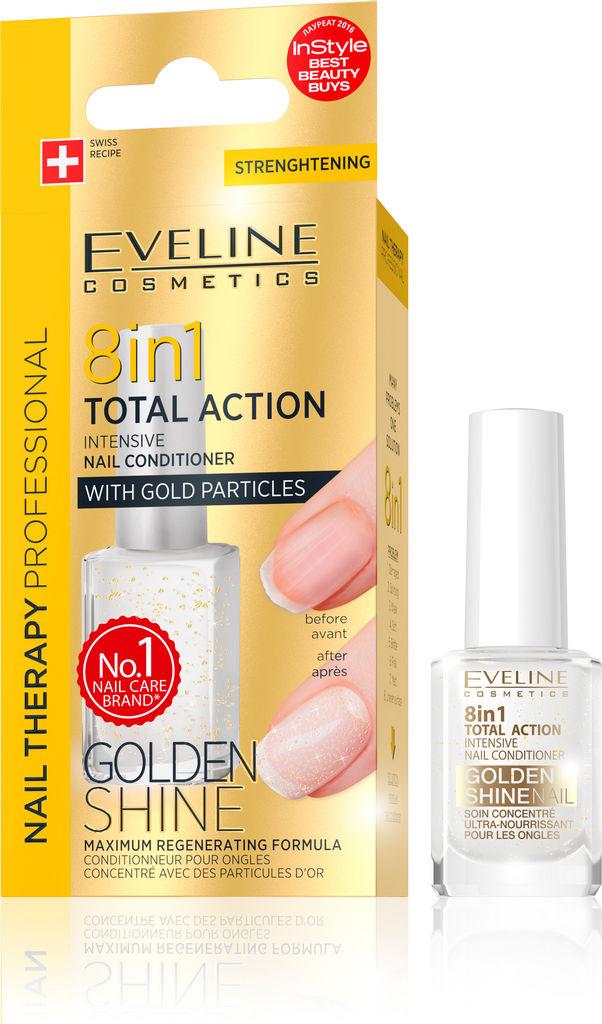 Lak za nohte Eveline, Golden Shine 8 v 1