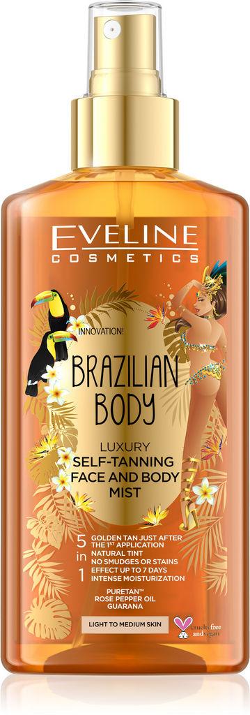 Losjon Eveline Brazilian body luxury self, 150 ml