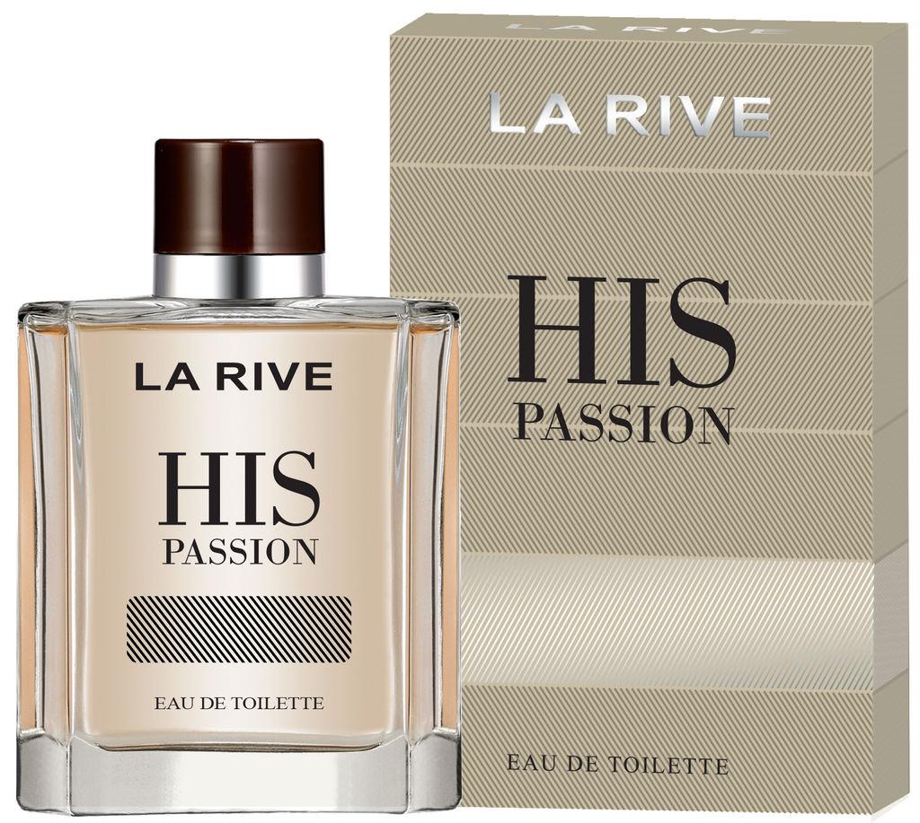 Toal.voda La Rive, moška, His passion, 100ml
